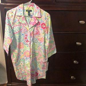 Ralph Lauren pajama shirt
